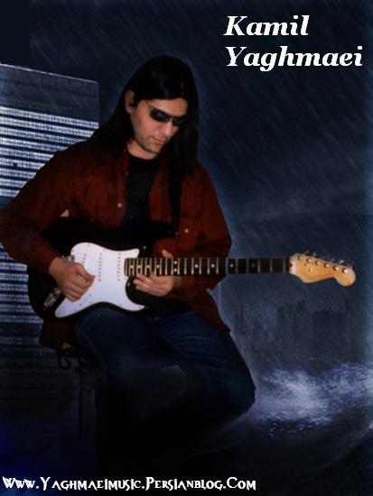 كاميل يغمايي نوازنده و آهنگساز جوان راك ايراني