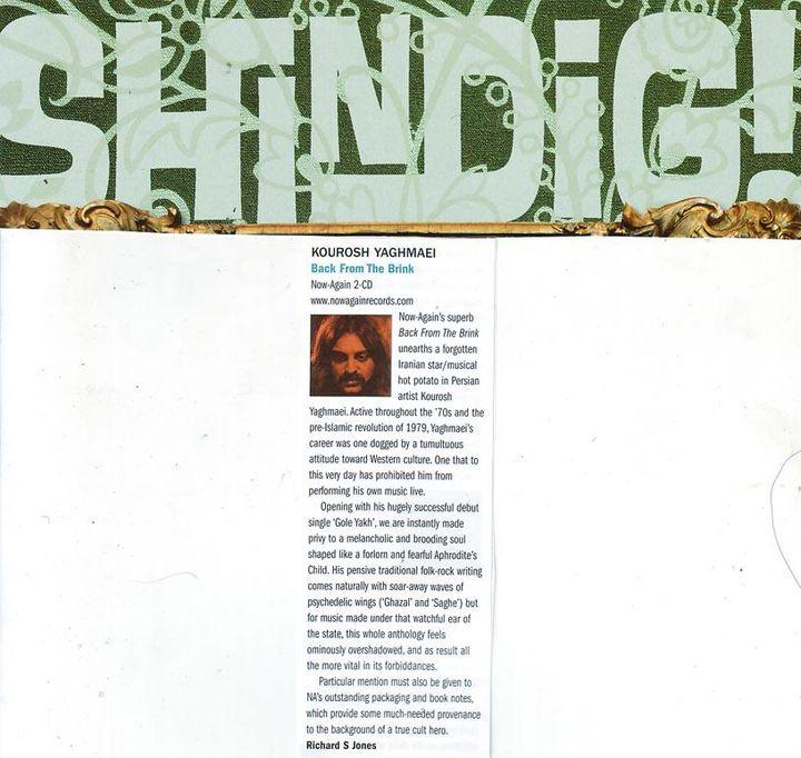 Kourosh Yaghmaei - Shindig Magazine